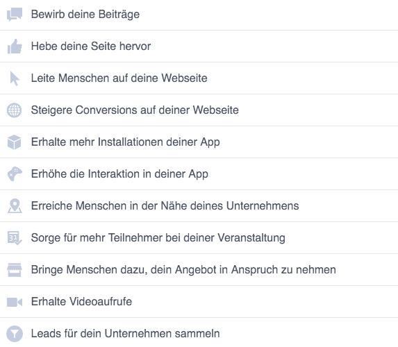Faceboook-Marketing-Kampagnen